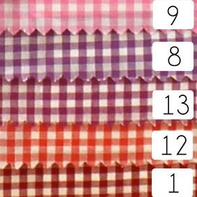 Tissu de Marie ruitjes 009 rose per 50 cm