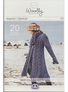 Magazine nr 3 Woolly naturel knitting