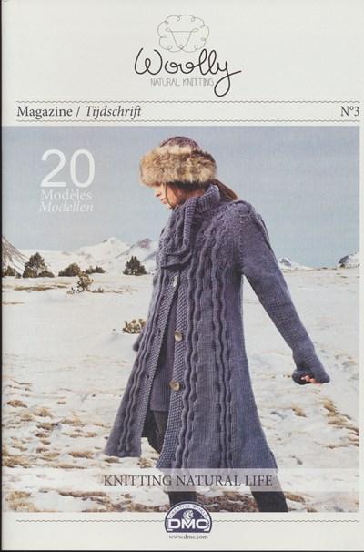 Magazine nr 3 Woolly naturel knitting