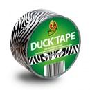 Duck tape stylish zebra 48 mm (op=op)