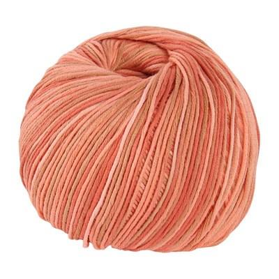DMC Natura Just Cotton 302S-N410 zacht oranje gemeleerd