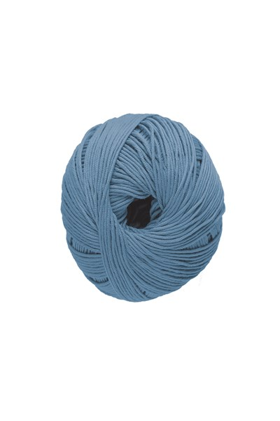 DMC Natura Just Cotton 302S-N26 licht blauw