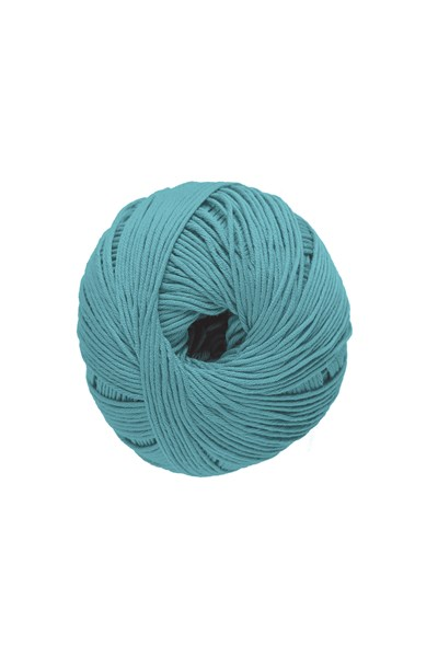 DMC Natura Just Cotton 302S-N49 oud aqua blauw