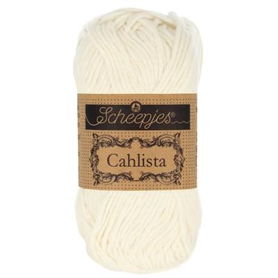 Scheepjes Cahlista 105 bridal white