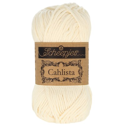 Scheepjes Cahlista 130 old lace levertermijn