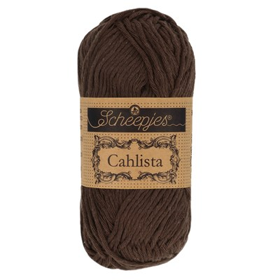 Scheepjes Cahlista 162 Black Coffee