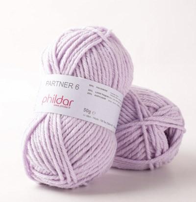 Phildar Partner 6 Lavande 2349 op=op