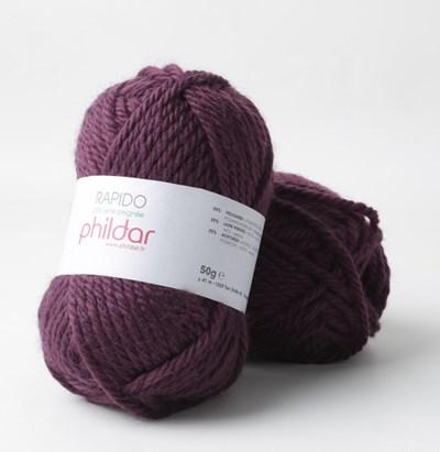 Phildar Rapido Aubergine 2349