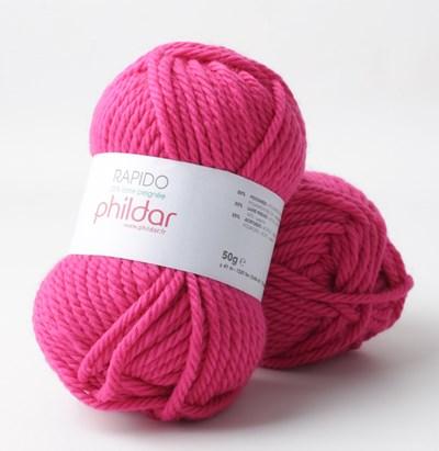Phildar Rapido Fuchsia 2144 op=op