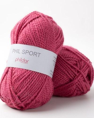 Phildar Phil Sport Fuchsia op=op