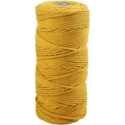 Katoenkoord 2 - 2,5 mm - geel 41532 90 meter op=op