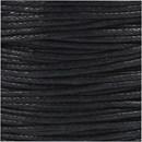 Katoenkoord 1 mm 51580 zwart (ca 40 meter)