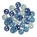 knoop 6 mm blauw aqua mix (op=op)