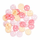 knoop 6 mm roze mix (op=op)