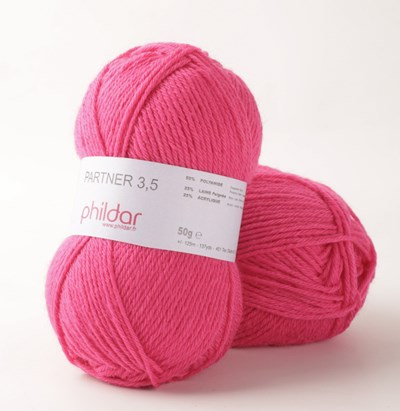Phildar Phil Partner 3,5 Pink 2144 op=op