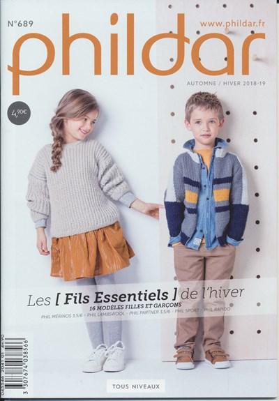 Phildar nr 689 - 16 modellen voor jongens en meisjes