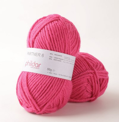 Phildar Partner 6 Pink 2144 op=op