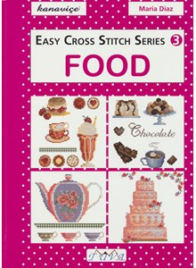 Easy Cross Stitch Series - Food