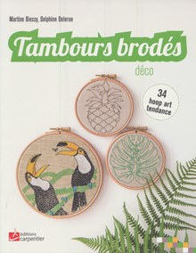 Tambours brodes