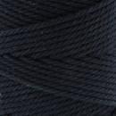 Katoenkoord 2 - 2,5 mm -  zwart 010 (op=op)