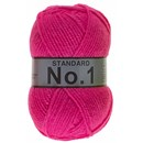 Lammy Yarns No 1 212 neon pink glow in the dark
