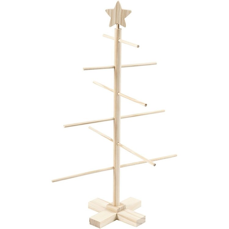Kerstboom 60 A 40 5 Cm Grenen Hobbydoos Nl