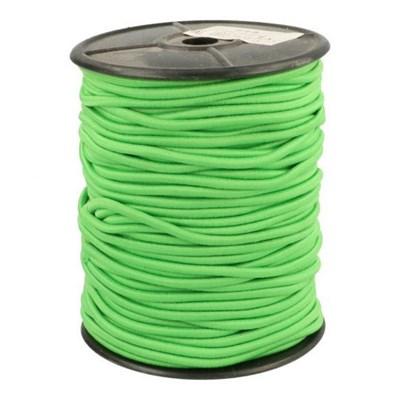 Elastiek koord 3 mm - fel groen 1 meter