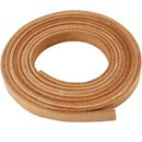 Leerband 10 mm naturel (10 cm)