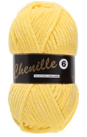 Lammy Yarns Chenille 6 - 510 geel