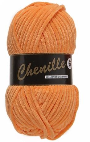 Lammy Yarns Chenille 6 - 041 licht oranje