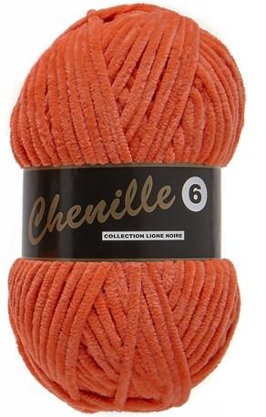 Lammy Yarns Chenille 6 - 312 oranje