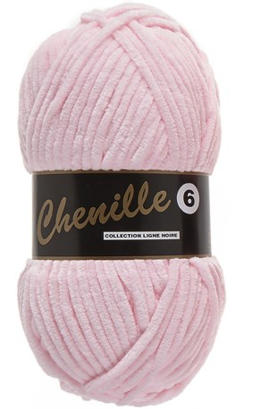 Lammy Yarns Chenille 6 - 710 baby roze