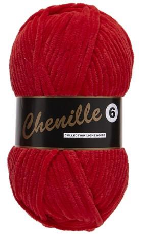 Lammy Yarns Chenille 6 - 043 rood
