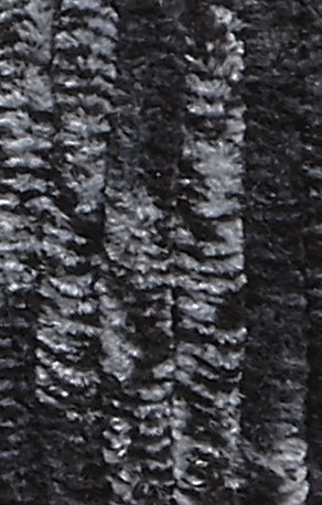 Lammy Yarns Chenille 8 607 wit zwart