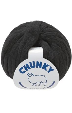 Lammy Yarns Chunky 002 zwart