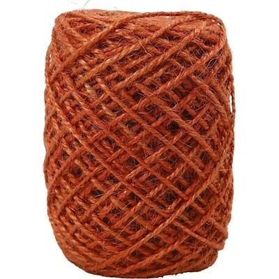 Vivi Gade natuurlijk hennep 1-2 mm - 503234 oranje op=op