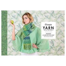 Leaflet nr 12 Mossy Cabled Scarf