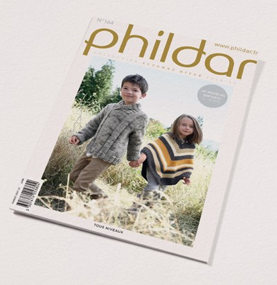 Phildar nr 164- herfst winter 2018 40 kindermodellen 4 - 16 jaar