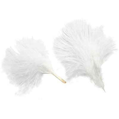 Veer 8-10 cm ca wit 3 gram