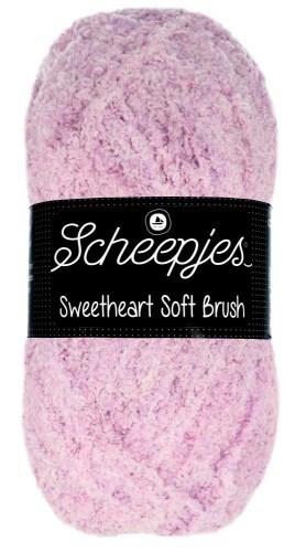 Scheepjes sweetheart soft brush - 530 roze gemeleerd