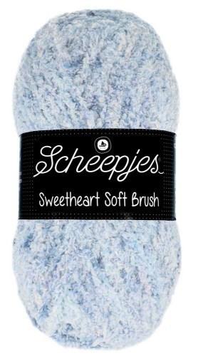 Scheepjes sweetheart soft brush - 531 licht blauw gemeleerd