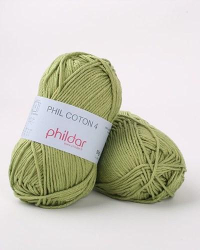 Phildar Phil Coton 4 Feuille - fris groen