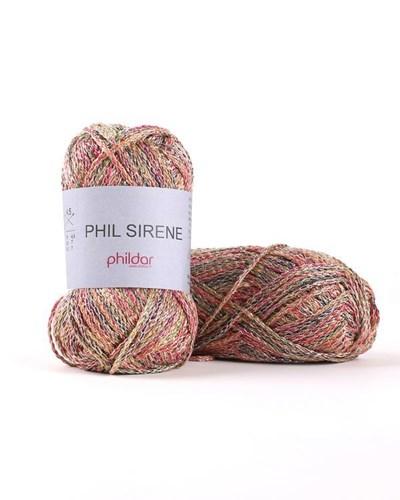 Phildar Phil Sirene Arlequin 1396