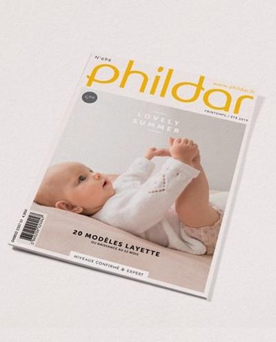 Phildar nr 694 20 modellen voor baby