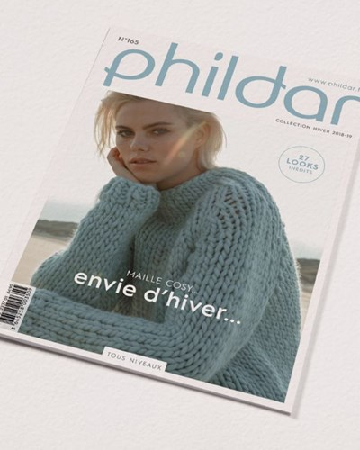 Phildar nr 165 herfst/winter 2018-2019 27 modellen
