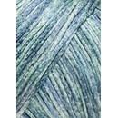 Lang Yarns Mulberry Silk 1011.0374 blauw groen gemeleerd