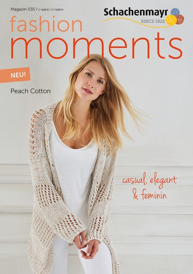 Schachenmayr Fashion Moments mag. 35 Peach Cotton