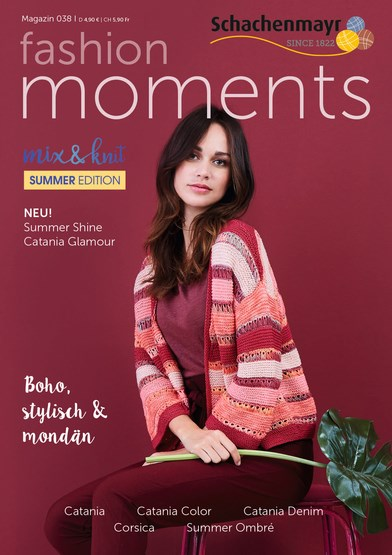 Schachenmayr Fashion Moments mag. 38 Summer edition