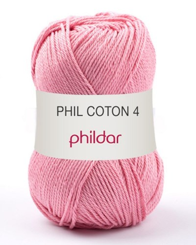 Phildar Phil Coton 4 Meringue - roze