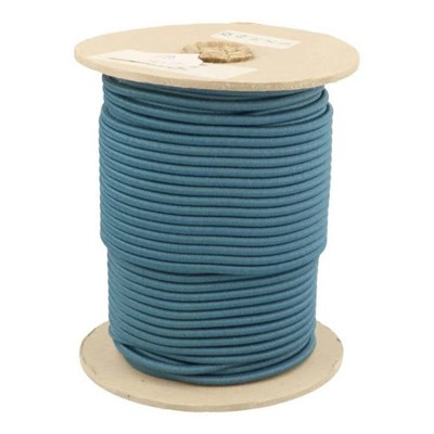 Elastiek koord 3 mm - petrol blauw 1 meter